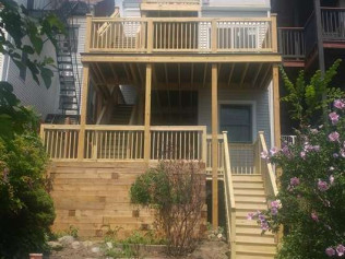 deck builder in Winthrop, MA