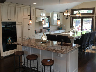 kitchen remodel in Winthrop, MA